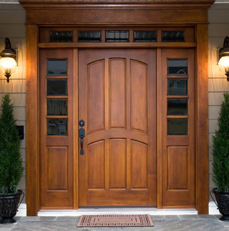 Smart Double Doors